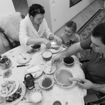 Фотопроект «Одно субботнее утро нашей семьи»