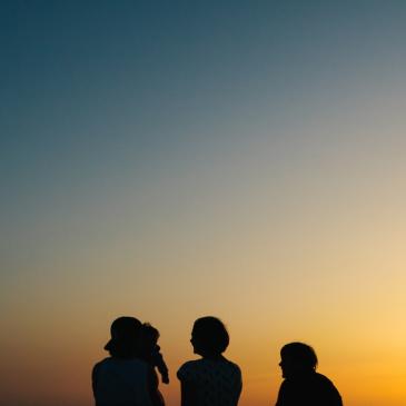 Семейная фотосессия Оли и ее семьи в Крыму